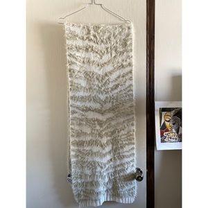 BCBGMaxAzria Cozy Animal Knit Scarf